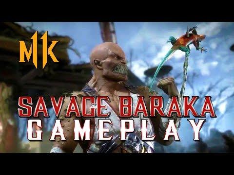 Mortal Kombat 11: Savage Baraka Gameplay! thumbnail