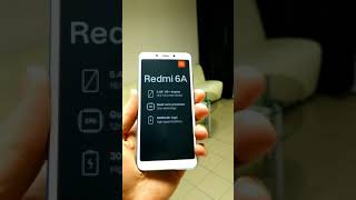 Супер краткий обзор телефона Xiaomi Redmi 6А цвет голубой 2019