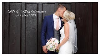 Mr & Mrs Warner Wedding Day Highlights