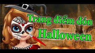 Game trang điểm đón halloween - Sofia halloween face art