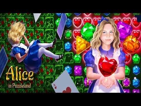 Alice In Puzzleland: Free Match 3 Android Gameplay ᴴᴰ