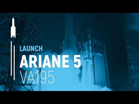 Arianespace Flight VA195 / ARABSAT-5A and COMS