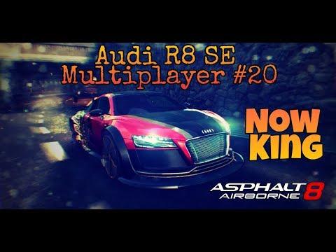 【狂野飆車8】「 MultiPlayer #20」Audi R8 SE 到追神車?