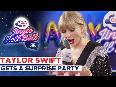 Taylor Swift Gets A Surprise Birthday Party   Capital's Jingle Bell Ball