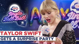 Taylor Swift Gets A Surprise Birthday Party | Capital's Jingle Bell Ball
