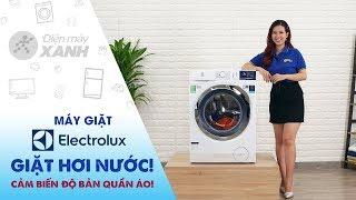 Máy giặt Electrolux: Giặt hơi nước chống nhăn & diệt khuẩn (EWF1024BDWA)