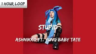 Ashnikko - STUPID Feat. Yung Baby Tate (1 HOUR LOOP)