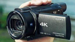 Обзор распаковка видеокамеры Sony FDR-AX53 4K