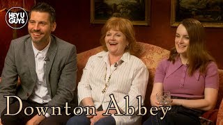 Robert James-Collier Sophie McShera amp Lesley Nicol on Downton Abbey Movie