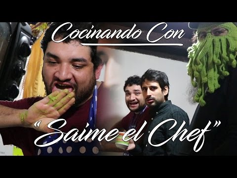 COCINANDO CON Chef Jaime! Cocinando con el GOTH en Español - GOTH