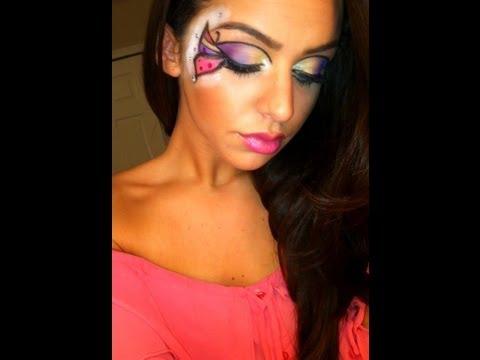 Butterfly Halloween Makeup Tutorial