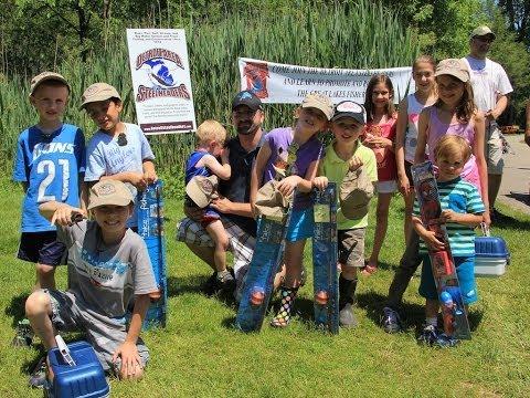 2014 Shelby Township Kids Fishing Tournament
