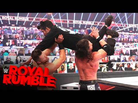Bad Bunny takes flight to level The Miz & John Morrison: Royal Rumble 2021 (WWE Network Exclusive)
