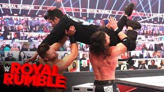 Bad Bunny takes flight to level The Miz & John Morrison: Royal Rumble 2021 (WWE Network Exclusive)