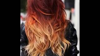 Выбери и покажи парикмахеру: 9 примеров окрашивания для рыжих