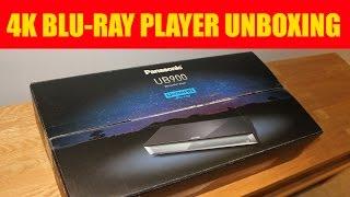 Panasonic DMP-UB900 4K UHD Blu-ray player UNBOXING