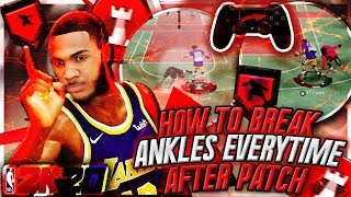 *NEW* HOW TO BREAK ANKLES EVERYTIME IN NBA 2K20 W/ HANDCAM TUTORIAL! BEST DRIBBLE MOVES AFTER PATCH!