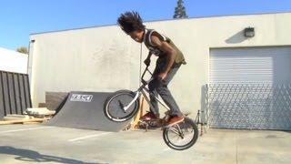 How to 360 a BMX bike with Kareem Williams