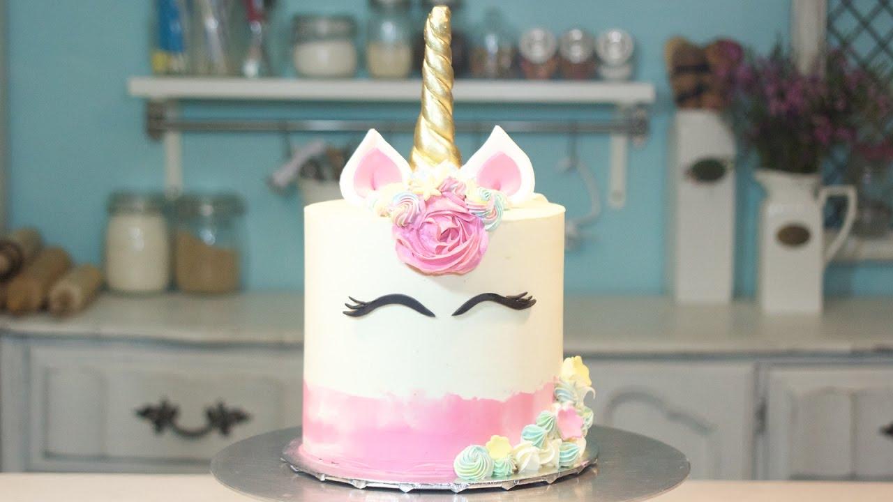 Pastel De Unicornio Unicorn Cake Dani Flowers