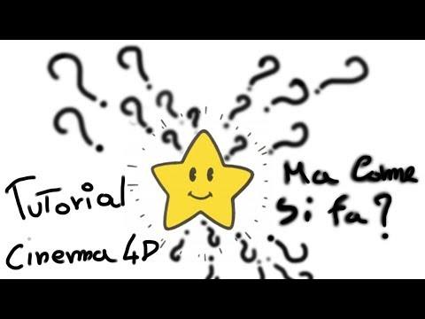 Come progettare la stella di super mario cinema 4D