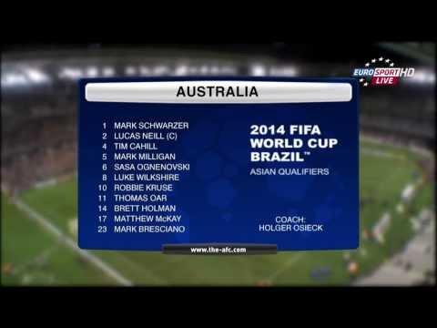 Australia Vs Jordan - 2014 FIFA World Cup Qualification - AFC 4th Round