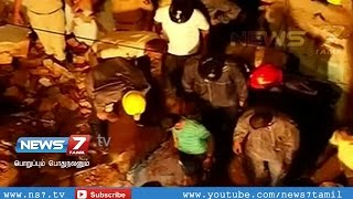 22 people rescued from building collapse spl video news 29-07-2015 | India hot news today | News7 Tamil