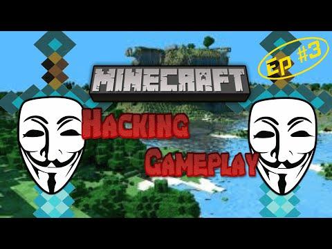 Minecraft: Hacked Client Gameplay | Episode Three | Griefing!!