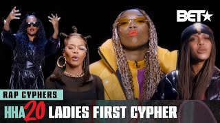 Brandy, Erykah Badu, Teyana Taylor & H.E.R. Represent In Their 2020 Cypher | Hip Hop Awards 20
