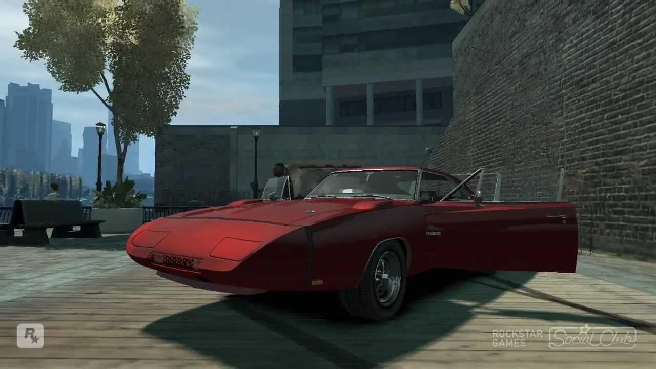 GTA IV 1969 Dodge Charger Daytona Mod HD - YouTube