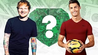 WHO'S RICHER? - Ed Sheeran or Cristiano Ronaldo? - Net Worth Revealed!