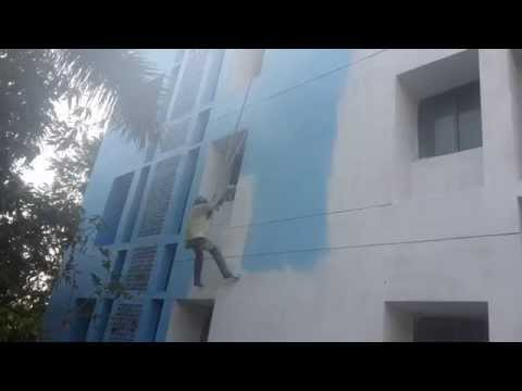 Exterior spray painting Chennai | exterior painting contractors
