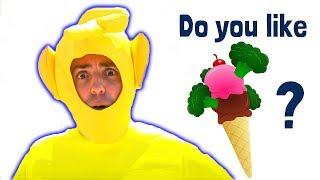 Do You Like Broccoli Ice Cream? Songs with Nadia