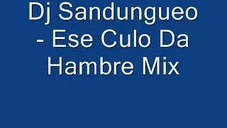 Dj Sandungueo - Ese Culo Da Hambre Mix
