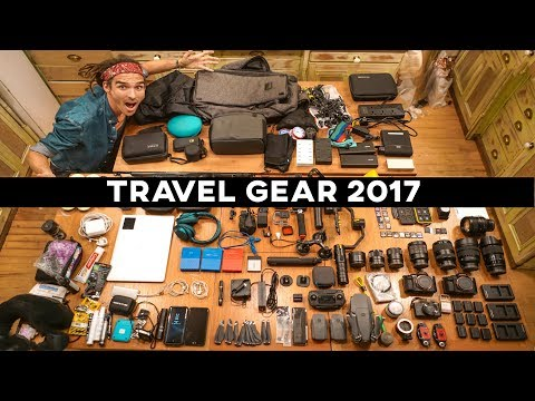 BEST TRAVEL VLOGGING GEAR 2017!