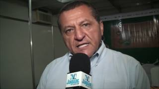 Dede Teixeira secretário da SDA enalteceu a grandeza da FENERJ 2016 realizada no Jaguaribe