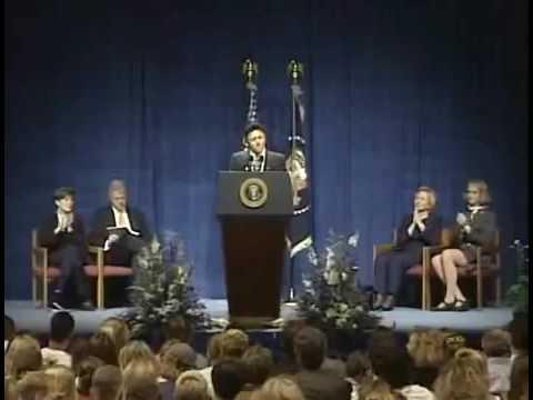 Columbine High School Speech: President Clinton in Littleton, Colorado (1999) http://thefi