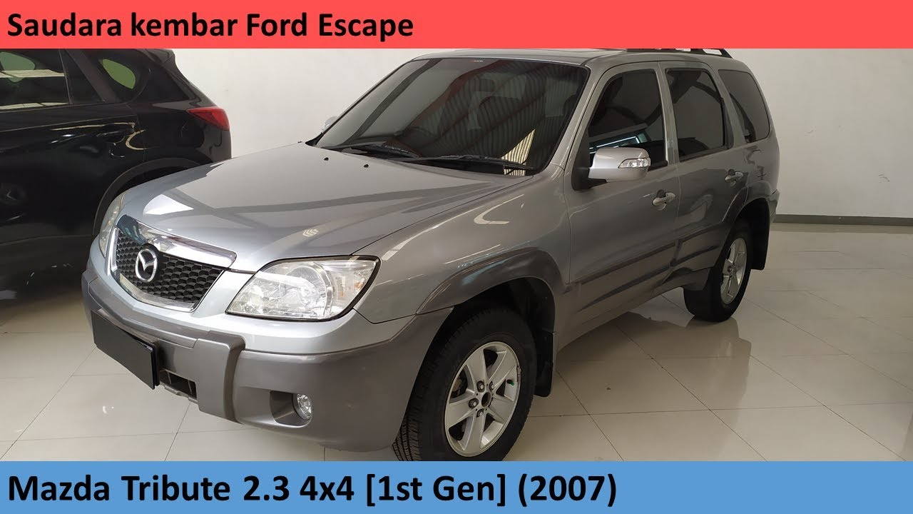Mazda Tribute 2 3 4x4 1st Gen 2007 Review Indonesia Youtube