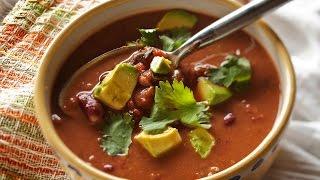 Receta De Sopa De Frijol Con Comino Y Jalapeño / Bean Soup With Cumin And Jalapeno Recipe