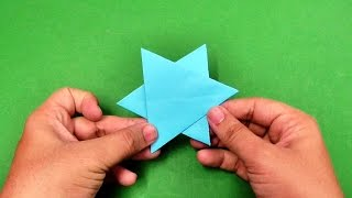 How to make an origami paper star | Origami / Paper Folding Craft, Videos & Tutorials.