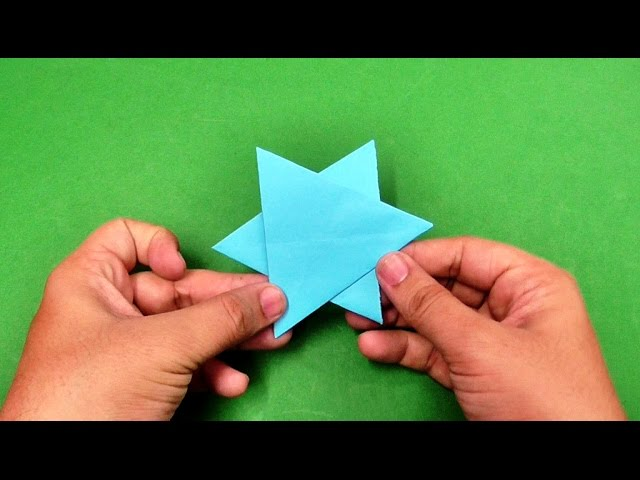 How To Make An Origami Paper Star