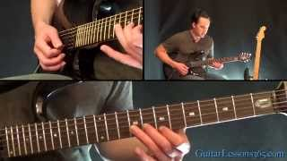 Chop Suey! Guitar Lesson - System of a Down