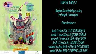 Les groupes Festivallon 22° Saison - DIDIER VARELA