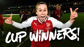 Cup Winners! | Access All Areas | Arsenal Women