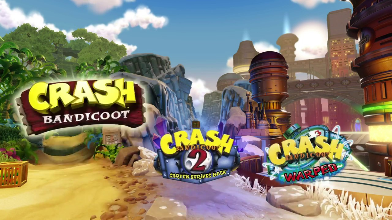 Crash Bandicoot N Sane Trilogy [The Wrath Of Cortex] PS4