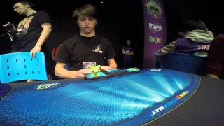 7x7 Rubik's cube former world record: 2:23.55