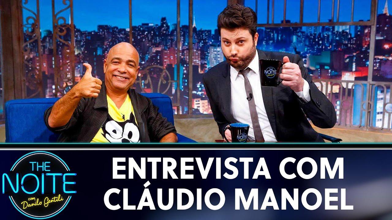 Entrevista com Cláudio Manoel    The Noite (29/05/19)