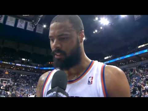 VIDEO: Tyson Chandler on Kevin Love: 'He can't play D'