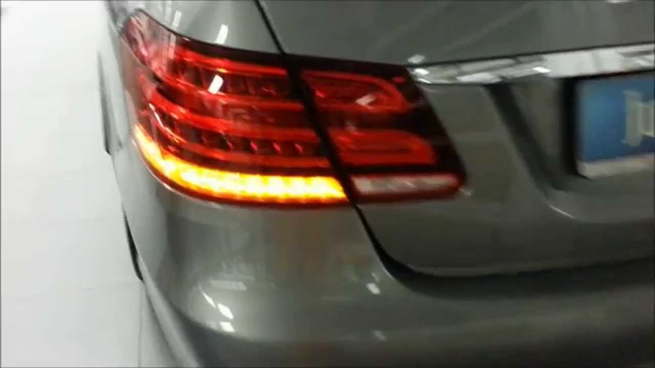 2015 audi a7 matrix led blinker vs 2014 mb e klasse led