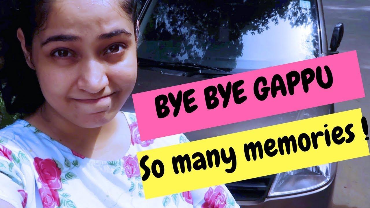 Saying Goodbye To My First Car Bye Bye Gappu Youtube