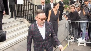 Guests attending Victoria Beckham fashion show during 2018 London Fashion Week
